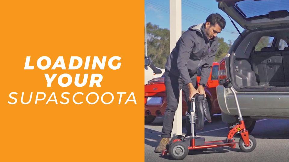 Loading A SupaScoota Into Your Car