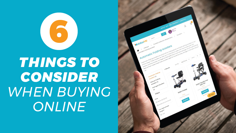 Six Things To Consider When Buying Online